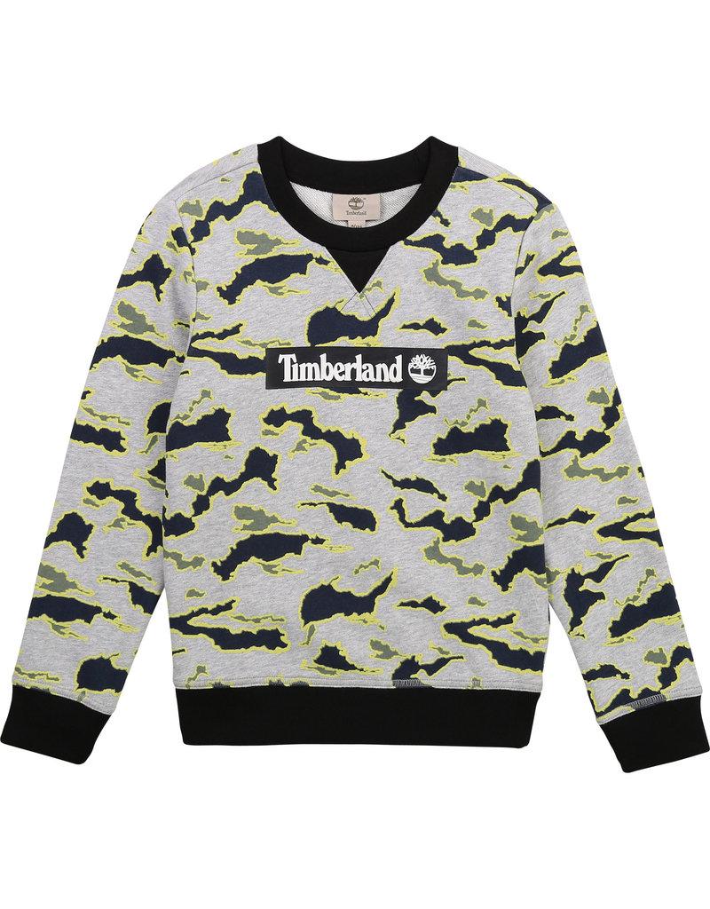 """Timberland Sweater """"Army"""" logo"""