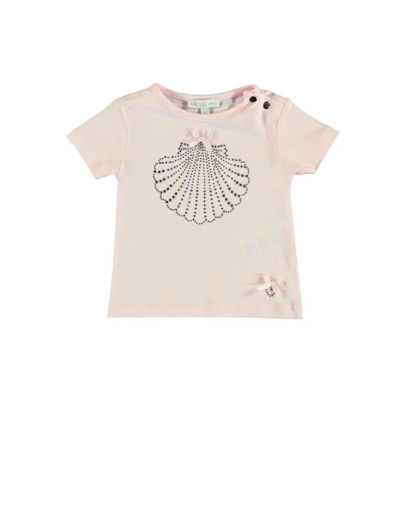 "Le Chic Tshirt ""Shell"" glitter pink"