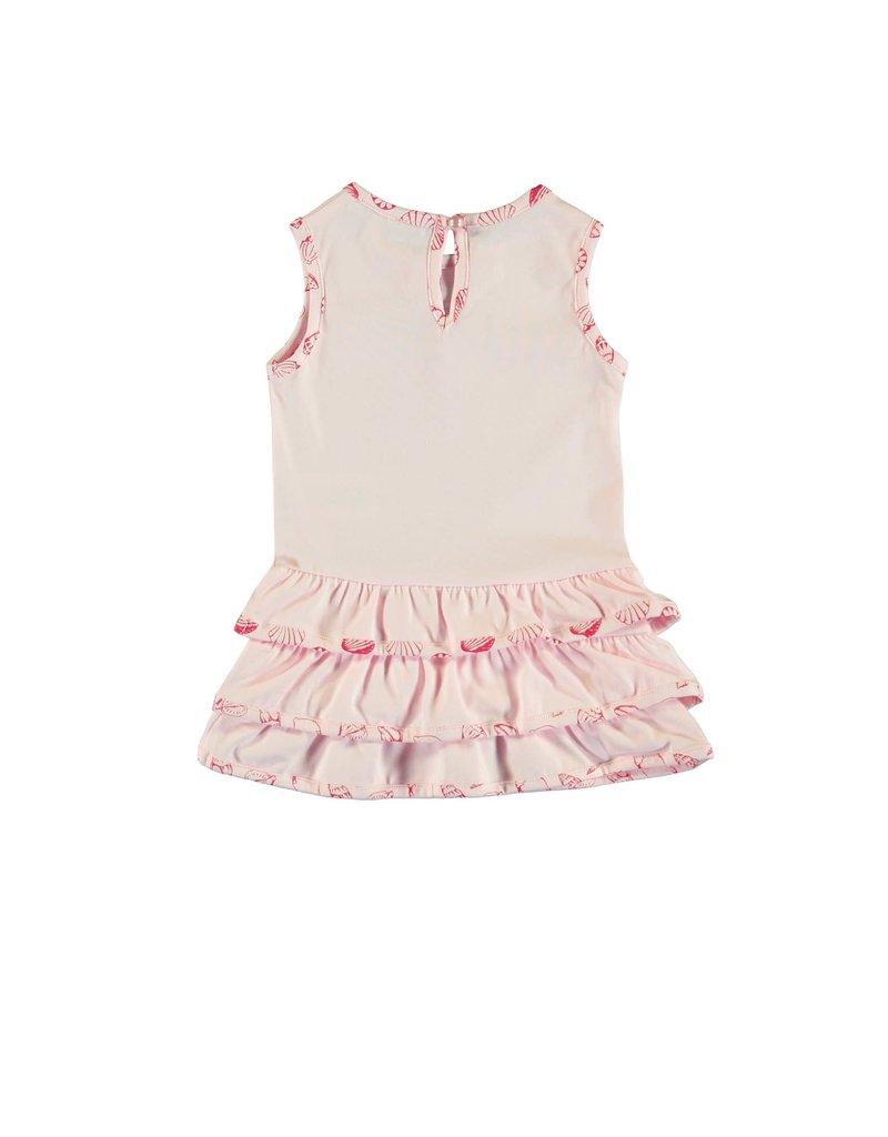 """Le Chic Jurkje """"Seahorse"""" ruffle pink"""