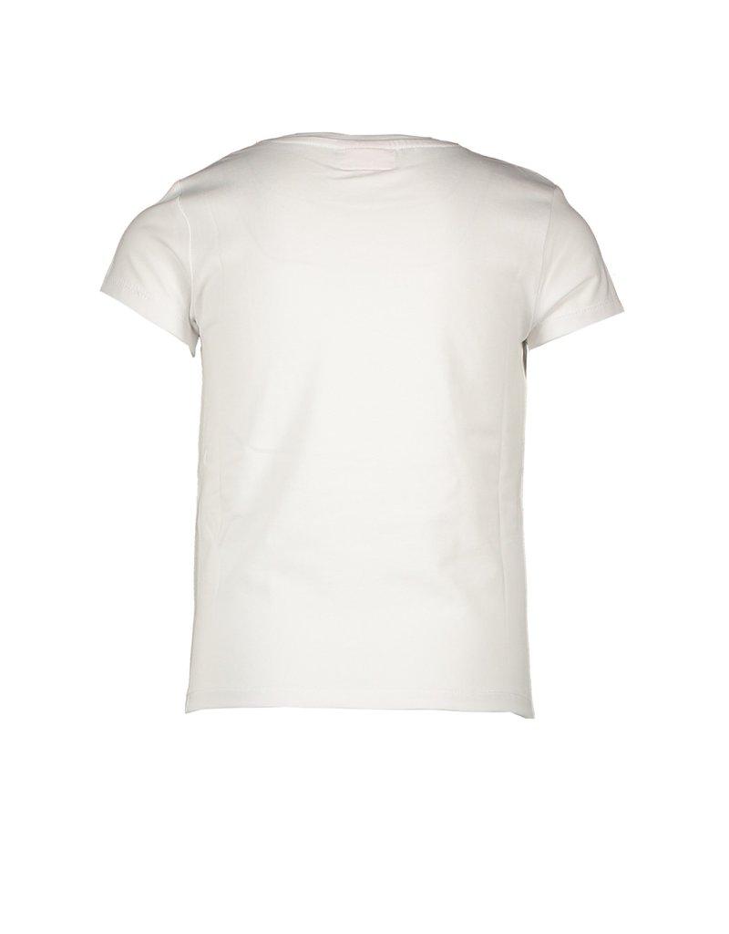 "Le Chic Tshirt ""Love"" golden heart off white"