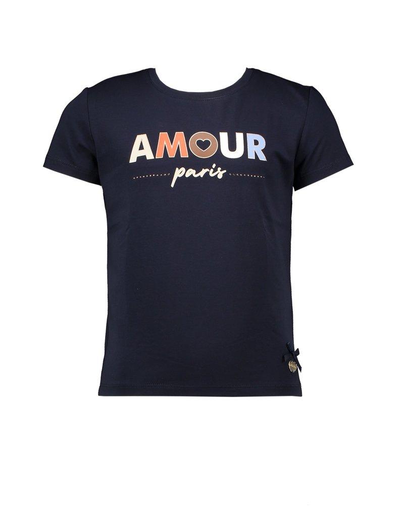 """Le Chic Tshirt """"Amour Paris"""" blue navy"""