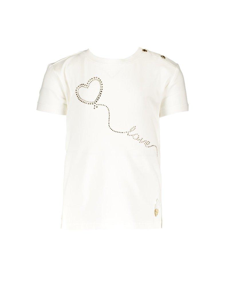 "Le Chic Tshirt ""Heart Balloon"" off white"