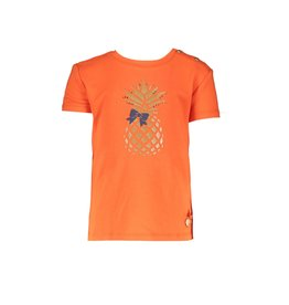 "Le Chic Tshirt ""Pineapple"" tangerine sunset"