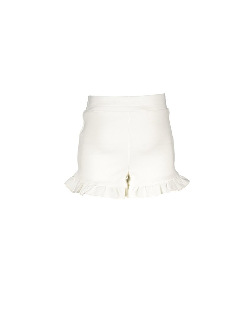Le Chic Shortje smooth jersey off white