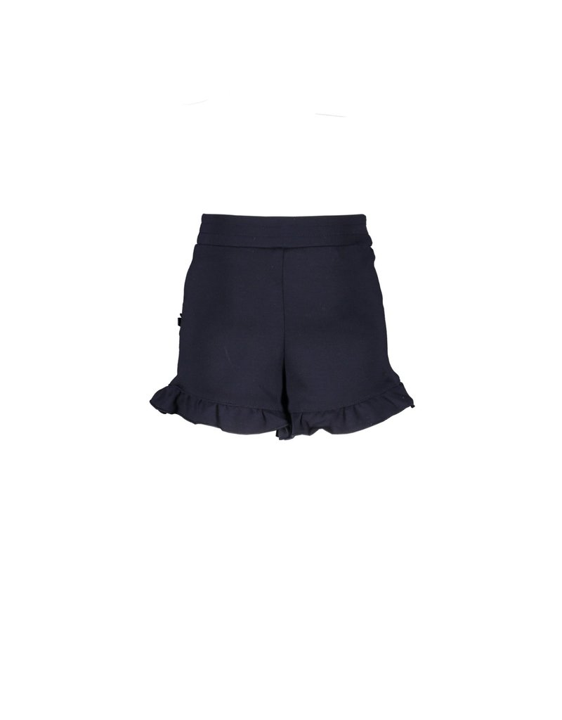 Le Chic Shortje smooth jersey blue navy
