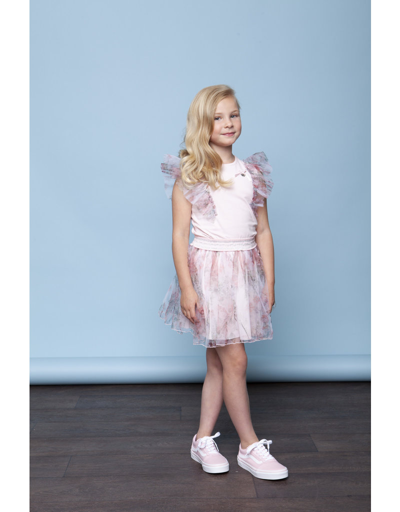 Le Chic Rok petticoat roses tule pink