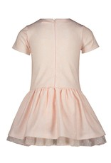 "Le Chic Jurk ""Field of Roses"" pink"