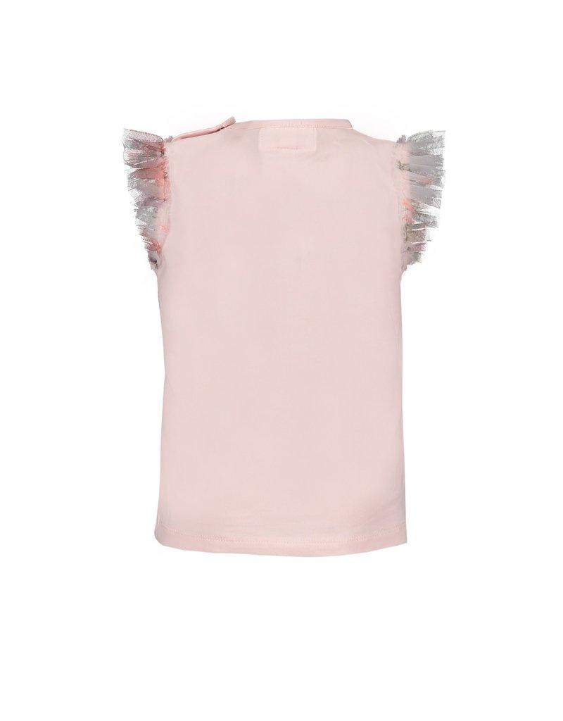 Le Chic Tshirt roses tule pink