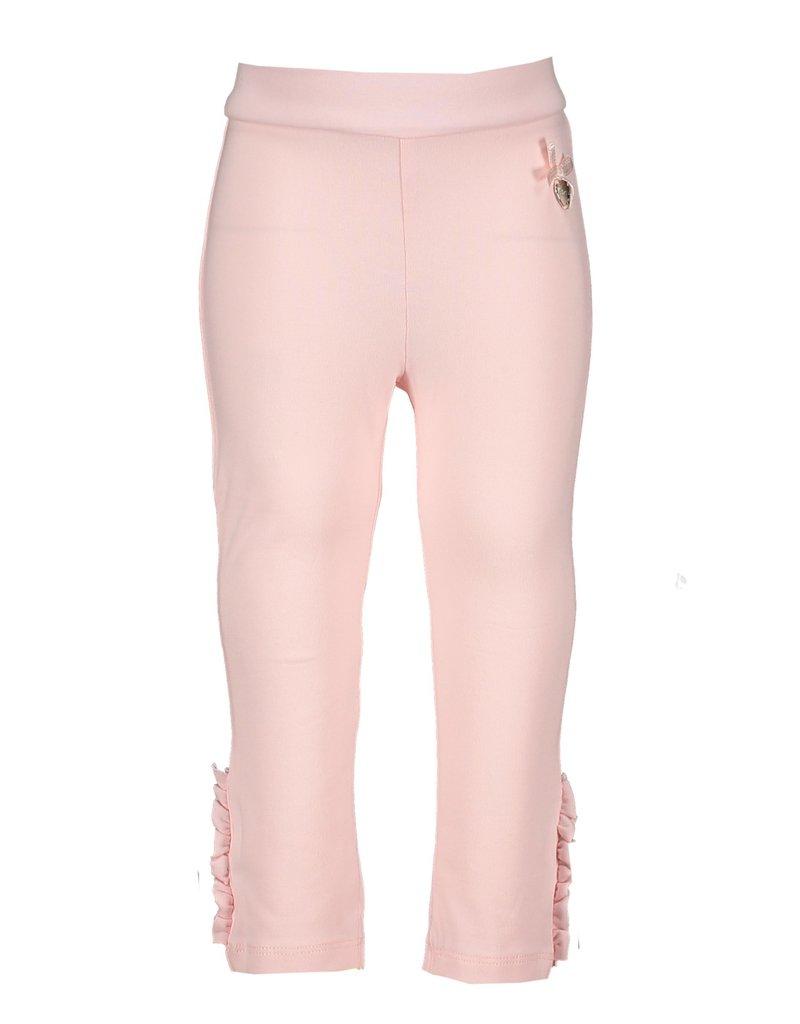 Le Chic Legging ruffles & pearls pink