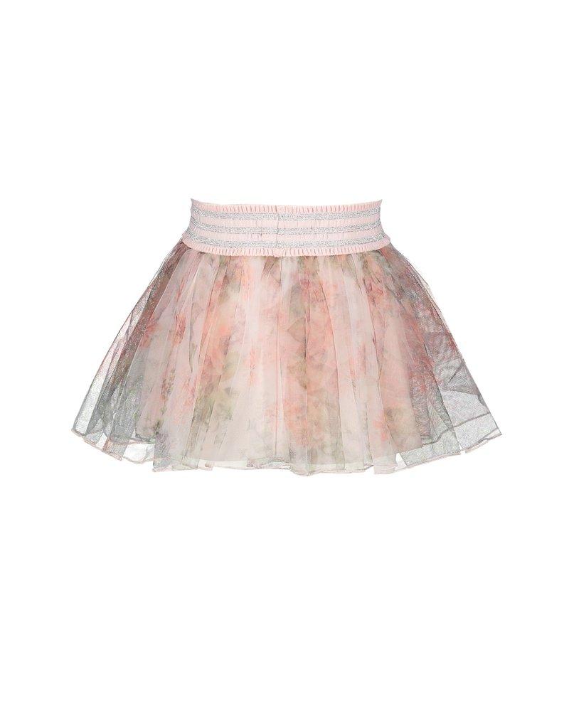 Le Chic Rok petticoat flower tule pink