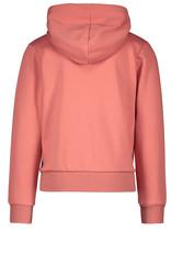 "LIKE FLO Sweatvest ""Leopard"" hoodie blush"
