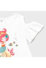 "MAYORAL Jurkje ""Mermaid"" tule skirt flamingo"