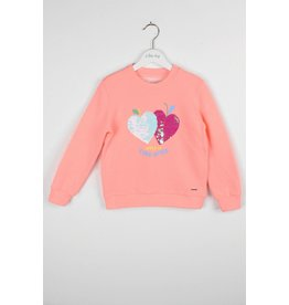 "BLUE BAY Sweater ""Poppie"" neon coral"