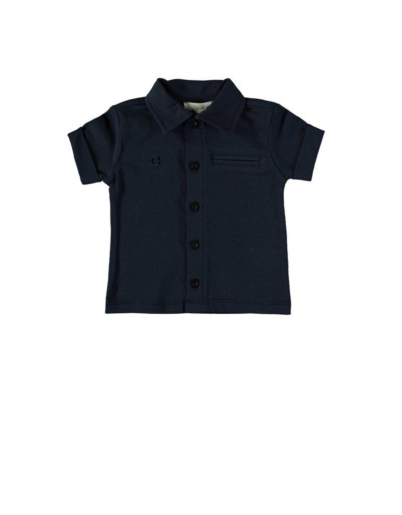 Le Chic Garçon Polo shirt blue navy
