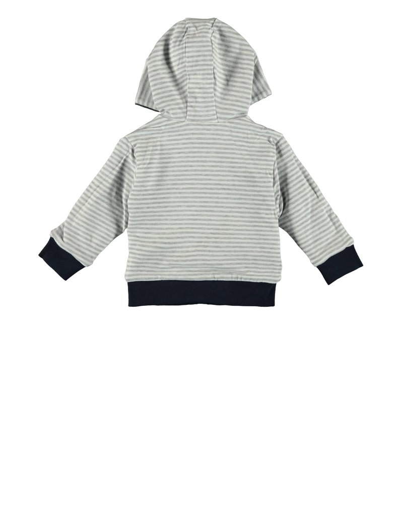 Le Chic Garçon Jacket hooded reversible blue navy