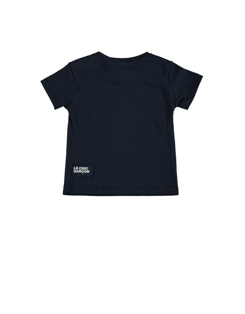 "Le Chic Garçon Tshirt ""Sous l'ocean"" blue navy"
