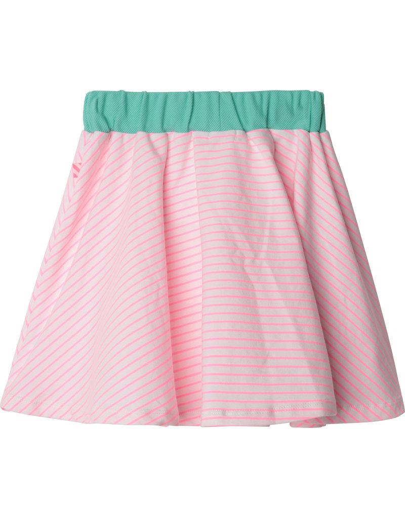 "Billieblush Rokje ""Vitamins Club"" white/pink stripe"