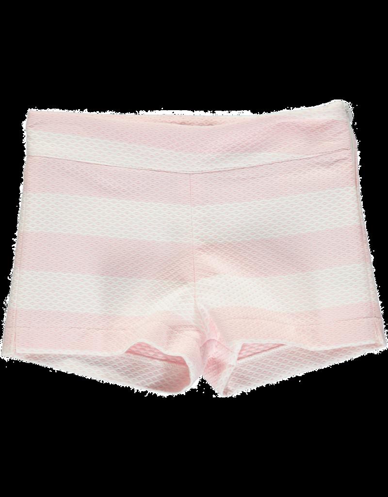Piccola Speranza 2 delige set Blouse+Shortje roze