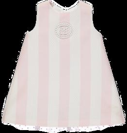 Piccola Speranza Jurkje streep roze achterkant strikjes
