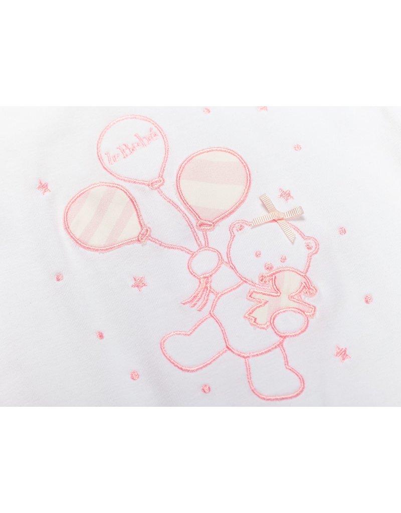 "LE BEBE Pyjama ""Beertje Ballon"" streepje roze"