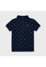 """MAYORAL Polo """"Good Vibes"""" navy"""