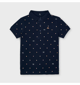 "MAYORAL Polo ""Good Vibes"" navy"