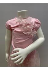 Special Day Set Tshirt+Broekrokje roze bolletjes