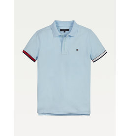 TOMMY HILFIGER Polo rib frost blue