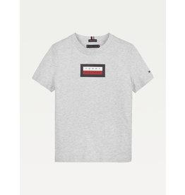 TOMMY HILFIGER Tshirt graphic light grey heather