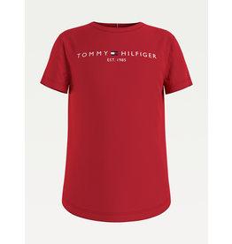 TOMMY HILFIGER Tshirt essential deep crimson