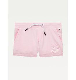 TOMMY HILFIGER Sweat short script print pink breeze