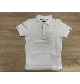 TOMMY HILFIGER Polo slim fit s/s white