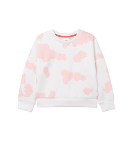 HUGO BOSS Sweater wit/rose