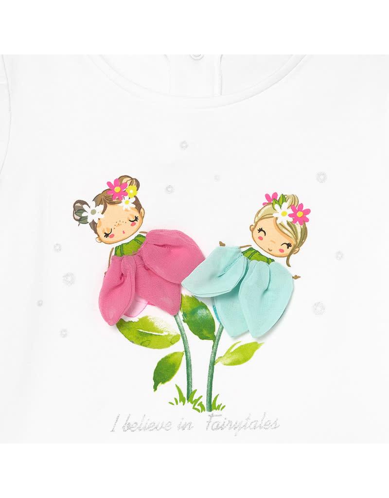 "MAYORAL Tshirt ""I Believe In Fairytales"""