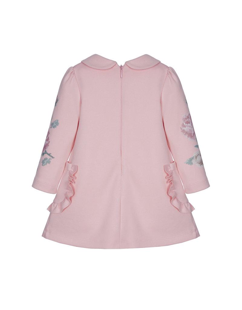 "Lapin House Jurk ""Lapin"" roze dubbele zakjes"