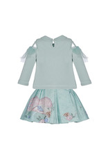 """Lapin House 2 delige set """"Jolie Lapin"""" turquoise"""