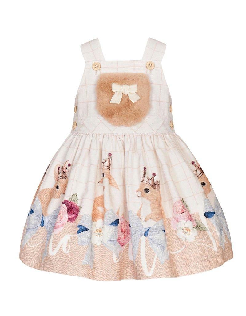 """Balloon Chic Salopette jurk """"Eekhoorn"""""""