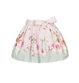 """Balloon Chic Rokje """"Beertje"""" roze/mint"""