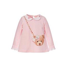 """Balloon Chic Sweater """"Beertje Handtas"""" roze"""