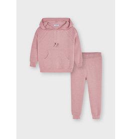 MAYORAL Tracksuit knit light roze