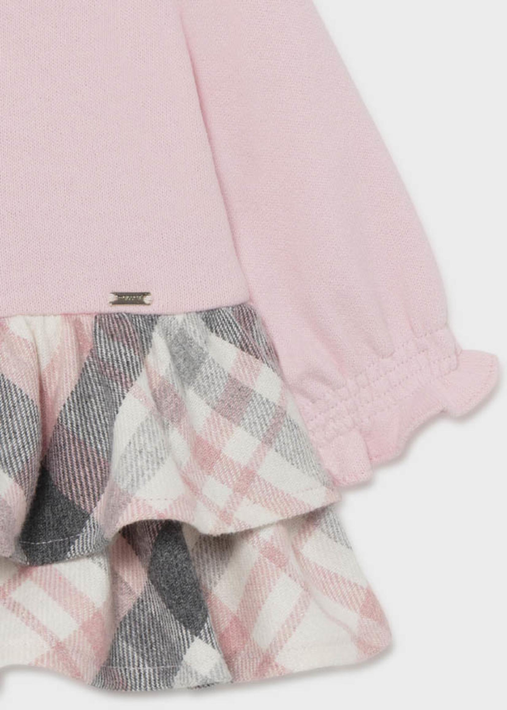 MAYORAL MAYORAL Jurkje check roze/grijs