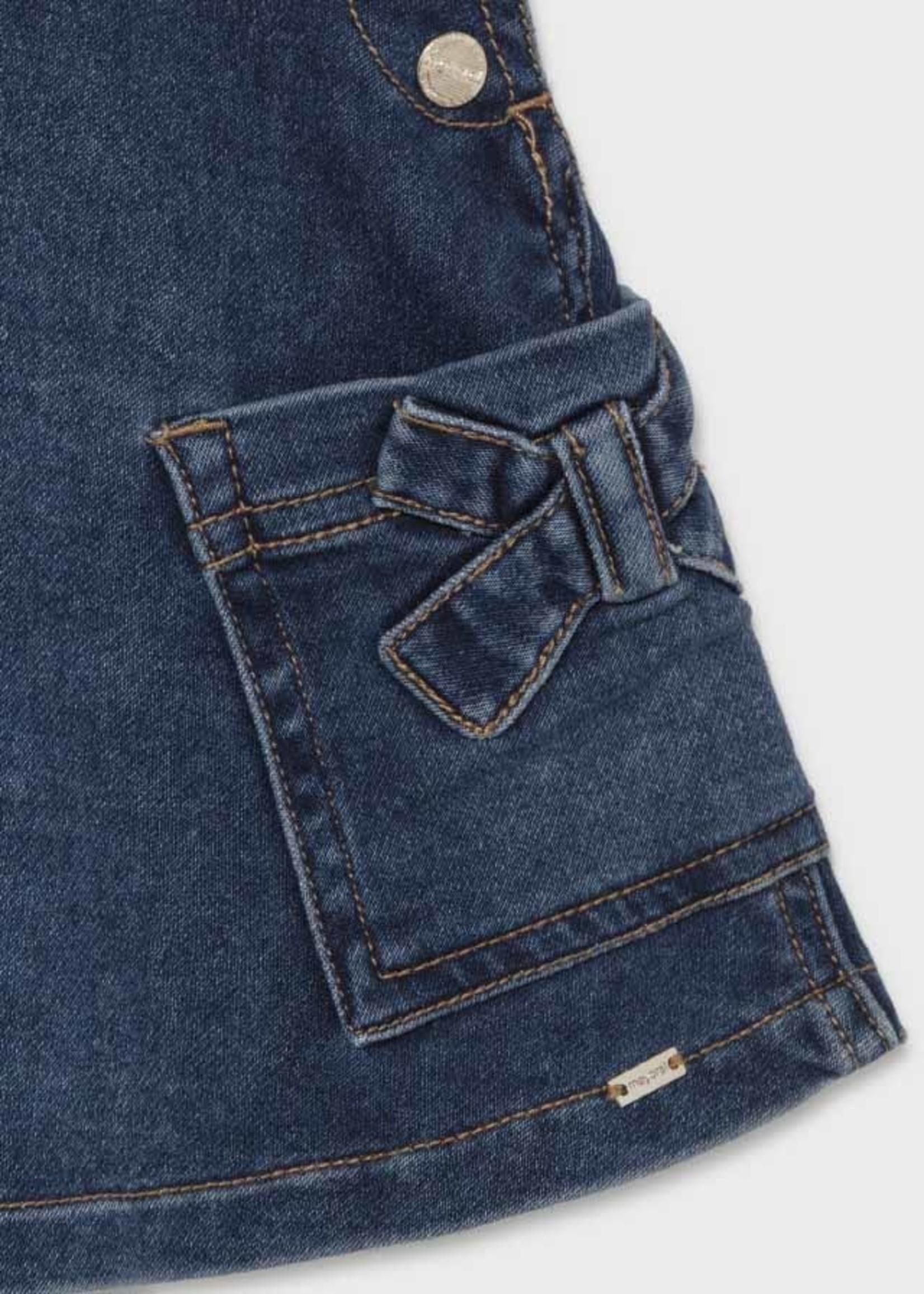 MAYORAL MAYORAL Jeansjurkje dungaree denim