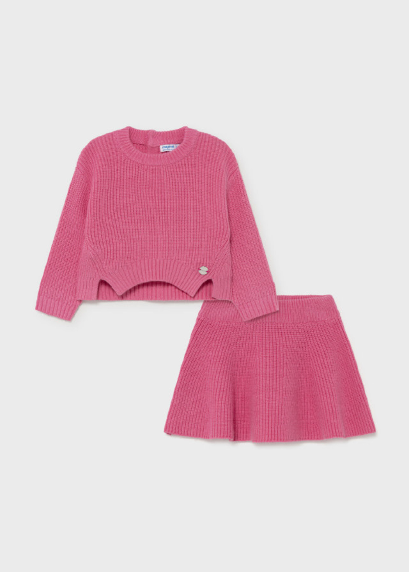 MAYORAL MAYORAL 2 delige set tricot camellia