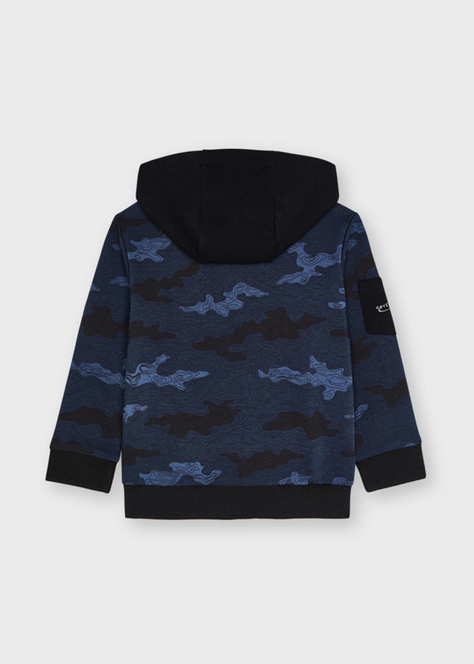 MAYORAL MAYORAL Sweatvest camouflage indigo