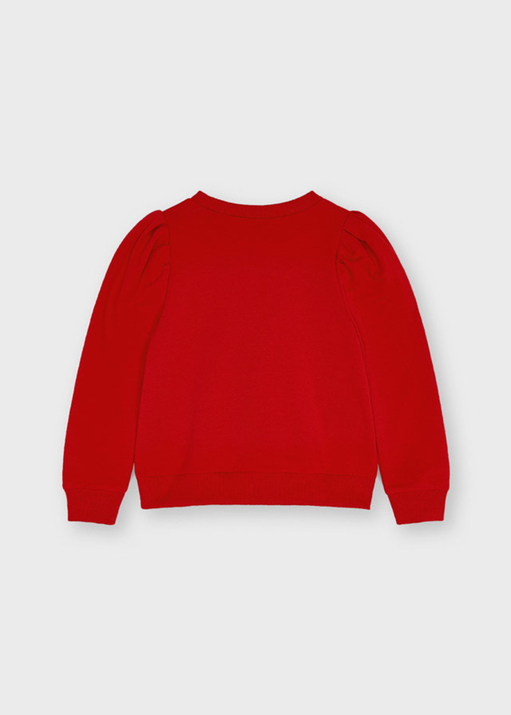 """MAYORAL MAYORAL Sweater """"Ciao"""" red"""