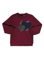 "EMC EMC Sweater ""Hartjes"" bordeaux"