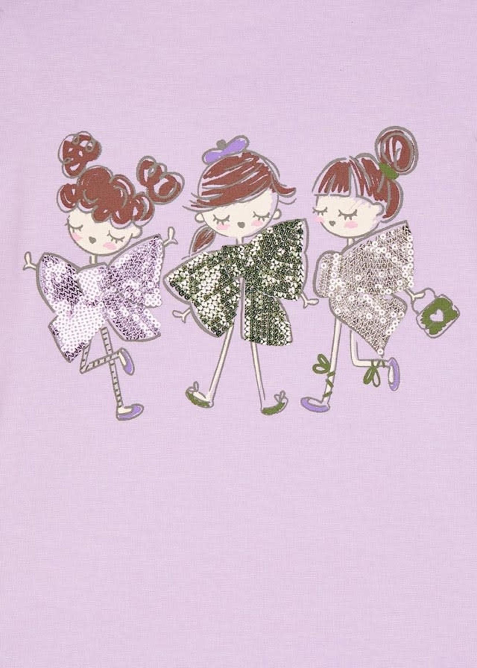 "MAYORAL MAYORAL Longsleeve ""Dolls"" lilac"