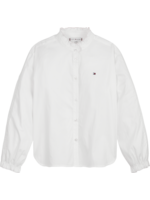 TOMMY HILFIGER TOMMY HILFIGER Blouse ruffle collar white