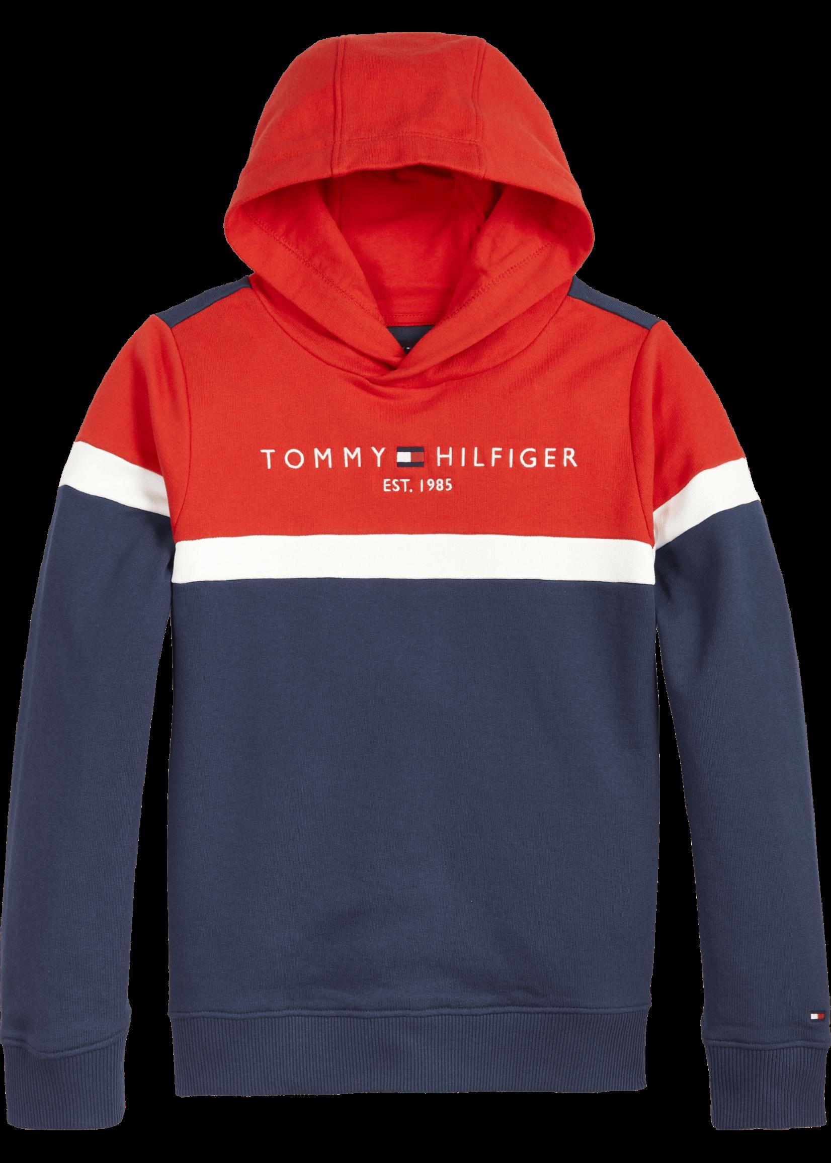 TOMMY HILFIGER TOMMY HILFIGER Hoodie colorblock twilight navy