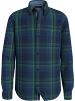 TOMMY HILFIGER TOMMY HILFIGER Hemd classic green check